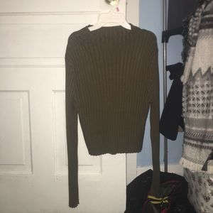 Plus sized ribbed sweater from forever 21 plus